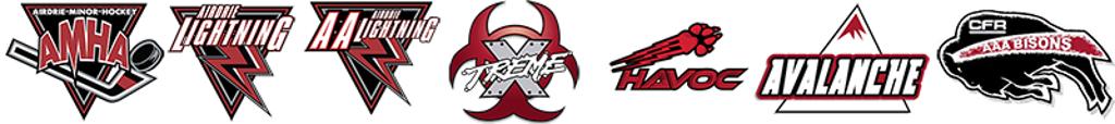a list of different AMHA logos